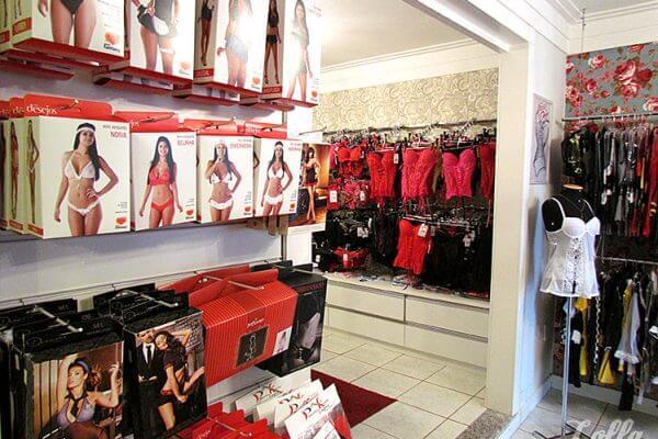 Fantasias e acessórios em Lingerie